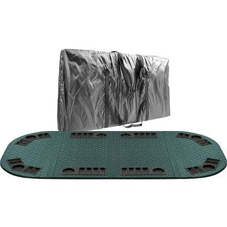Trademark Poker Deluxe Suited Speed Felt Folding Poker Table Top