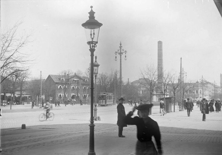 Frihedsstøtten i 1908. Fra 'Gamle København'