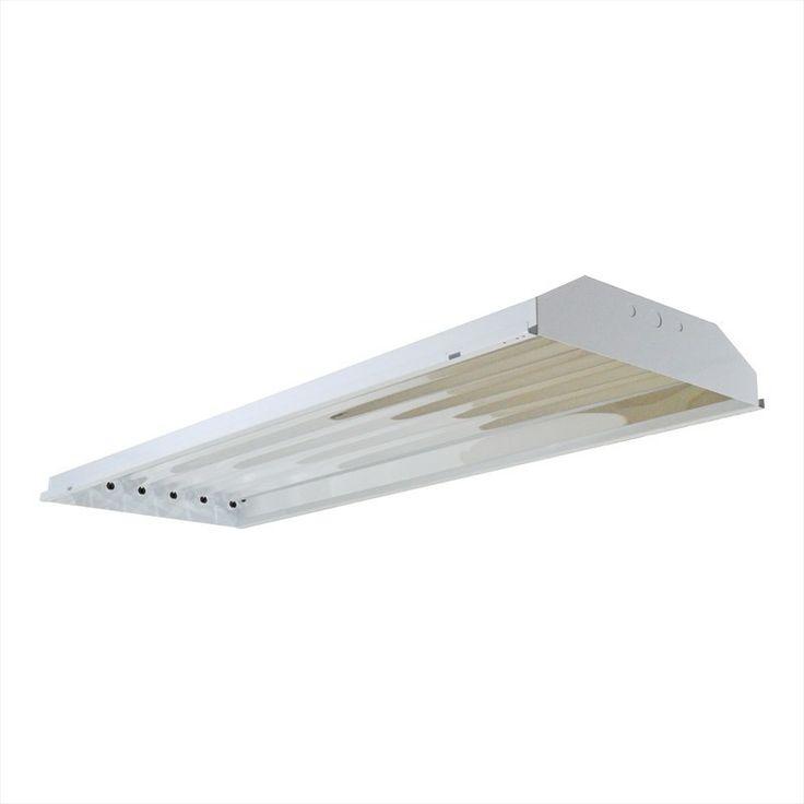 6 Lamp LED High Bay - T8 LED - 108 Watt - 10800 Lumens - DLC Approved
