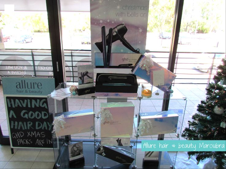 it's a ghd Wonderland at Allure hair & beauty Maroubra