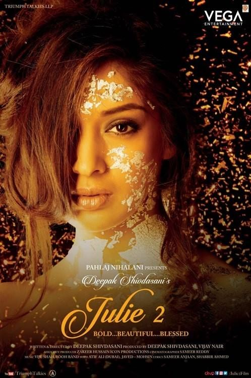 Raai Laxmi's #Julie2 Movie Poster & Grand Releasing Tomorrow #Raailaxmi #Bollywood #Film2017 #Vega #Entertainment #VegaEntertainment