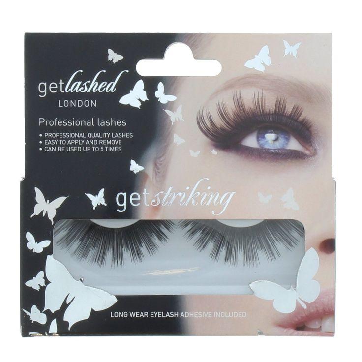 Buy Get Lashed London False Eyelashes Get Striking Online at Cosmetics - Cosmetics4uOnline.co.uk