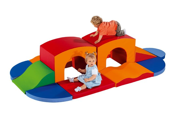Soft Foam Climbing Fort.  Excellent addition to a toddlers play room!