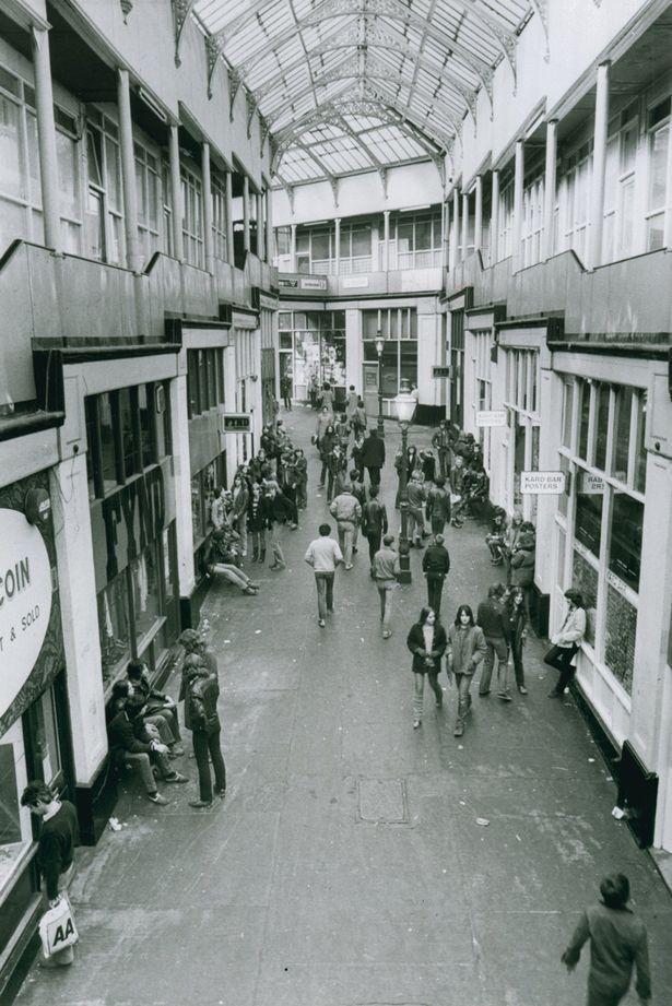 Handyside Arcade, Newcastle 1970s