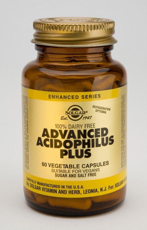 solgar advanced acidophilus place 60's