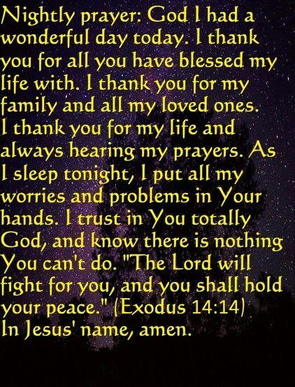 Nightly Prayer                                                       …