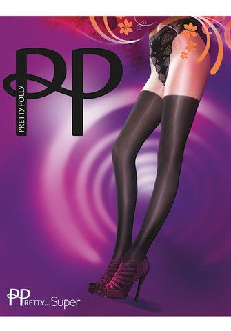 Pretty Super Over The Knee Tights By Pretty Polly