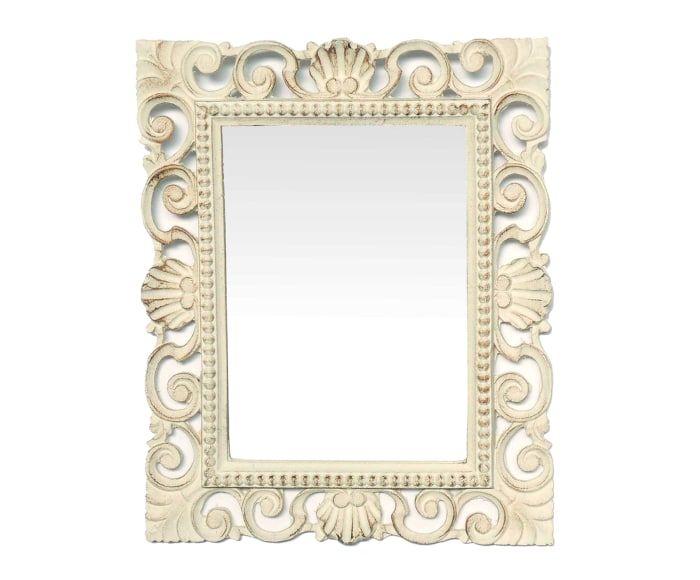 M s de 25 ideas incre bles sobre espejo envejecido en for Espejo blanco envejecido