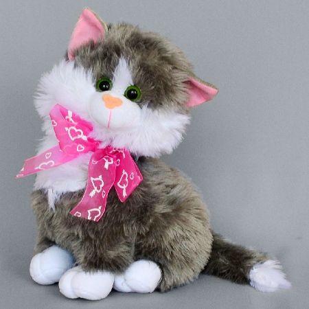 мягкая игрушка котёнок 30 см.