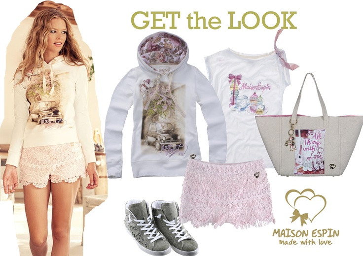 get the look#maisonespin   #look #outfit#chic#springsummercollection13 #womancollection #top #lovely #MadewithLove #romanticstyle #milano#clothing #shopping #iloveshopping