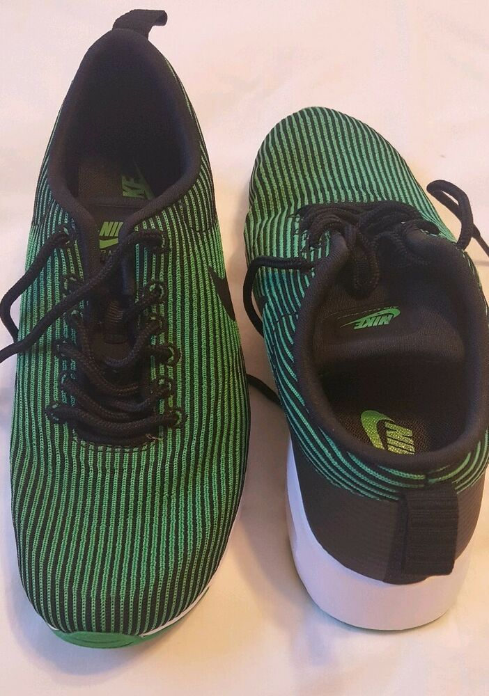 check out 6e929 477a0 Nike Air Max Thea KJCRD Womens 718646-005 Spring Leaf Green Running Shoes  Size 7