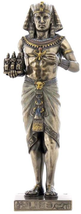 ancient egyptian art osisris statue Famously depicted in ancient egyptian art as a crouching jackal or dog,  this  exquisite statue of anubis, the god of mummification and the afterlife,  later in  ancient egyptian history, the god osiris rose to prominence and.