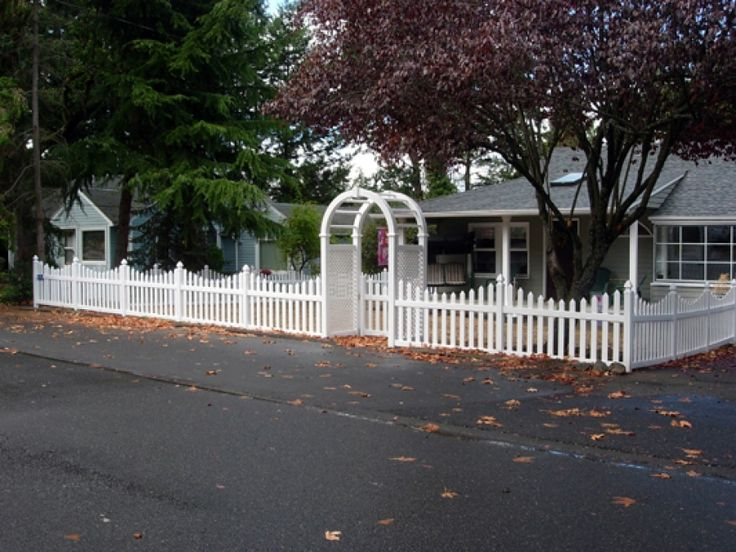 63 best keng fence vinyl images on pinterest privacy for Front garden fence designs