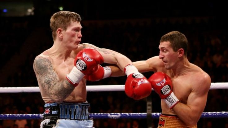 Manchester, Nov 24, 2012. Ricky Hatton Vs Vyacheslav Senchenko for The Welterweight bout at the MEN Arena.