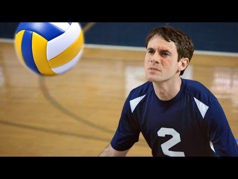 Legendary goalkeeper Scott Sterling returns in a volleyball match (Video)