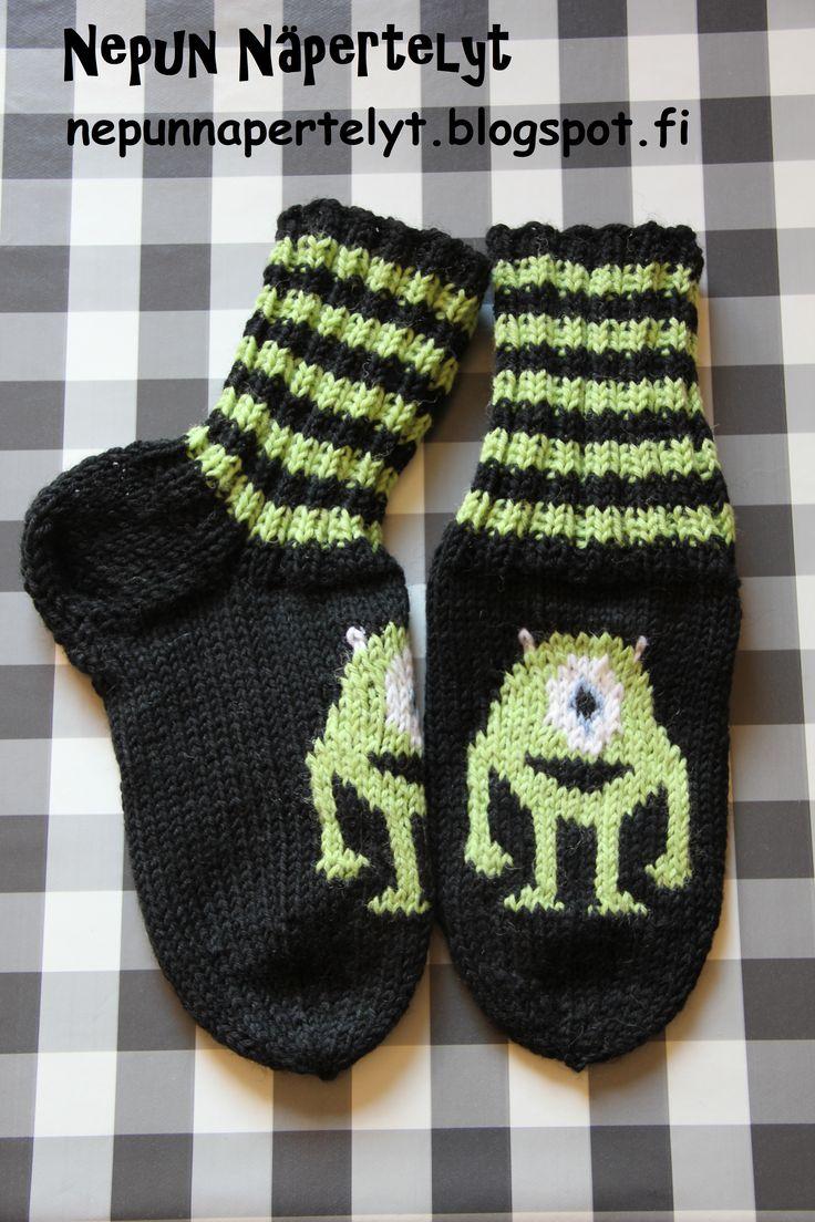 Masi Pallopää sukat