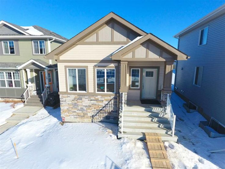 Come see Alquinn's New 2 Bed Bungalow with 26x22 Garage situated in Harvest Ridge!