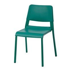IKEA - TEODORES, Chair, The chair is easy to store when not in use, since you can stack up to 6 chairs on top of each other.