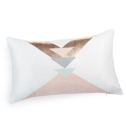 Housse de coussin en tissu 30 x 50 cm ARIA