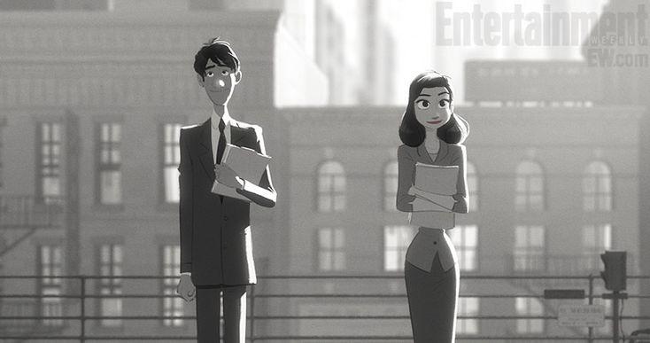 "Disney's ""Paperman"" short combines digital and... - Pop Culture Brain | Movies TV Music Web Theater"
