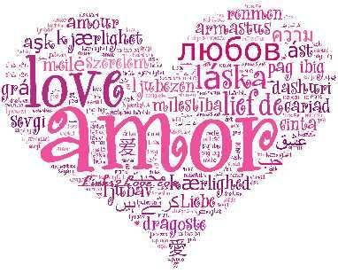 I Love You, Language, Say I Love You in 100 Languages, Translate