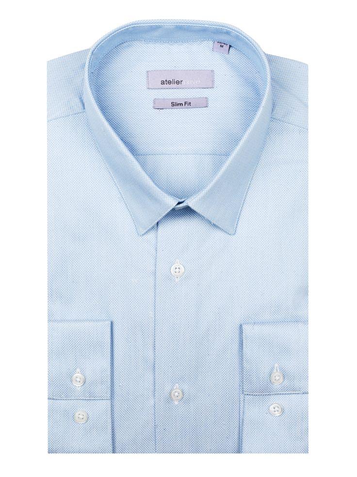 Chemise cintrée HILTON - 90€ | http://www.atelierprive.com/fr/nouveautes-mode-homme/3897-chemise-cintree-heli.html