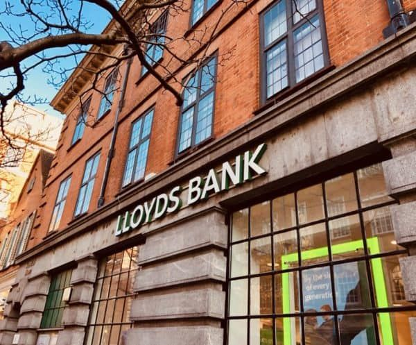Lloyds Bank Announced On Wednesday It Has Formed A Partnership