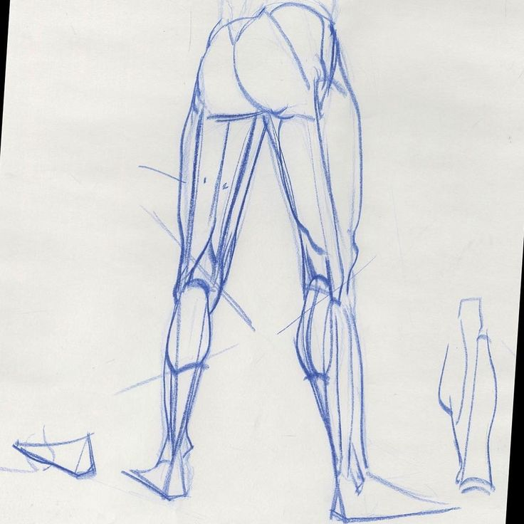 Legs simplified. From a students drawing pad in my Inventive Drawing class at ArtCenter in Pasadena, CA. #societyofillustratorsla #otiscollegeofartanddesign #animationstudent #lifedrawingclass #beauxartsdeparis #artschool #artworkshop #animationstudent #dessin #desenho #drawingskill #drawingworkshop  #pencilsketch  #lifedrawingworkshop  #figuredrawingworkshop #figuredrawingclass #croquis #anatomy #anatomie #anatomydrawing #drawinganatomyandart #comicon2017 #sandiegocomicon2017 #brügge…
