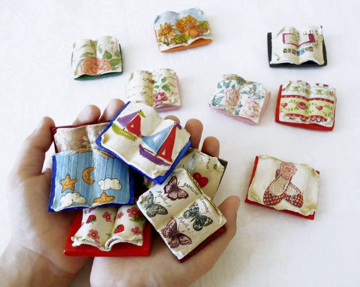 Librarian Gift Miniature Books Fridge Magnets Book Lover