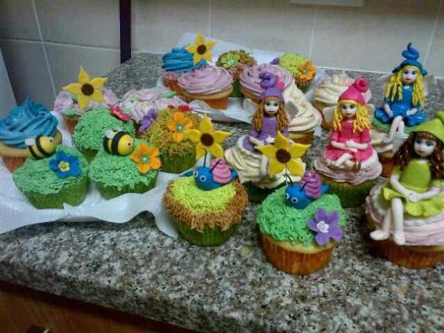Fairy cupcakes by Raquel Monteiro