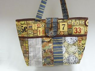 Kathy's Cozies: New Tim Holtz Fabric