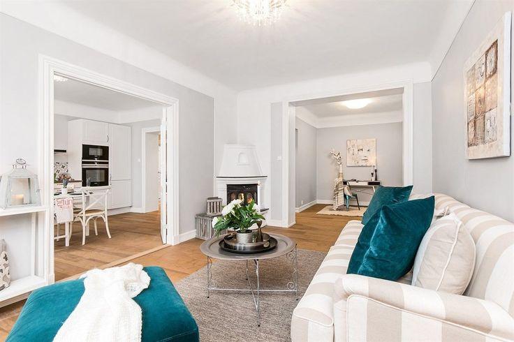 FINN – Fagerborg - Nyoppusset og påkostet 3-roms leilighet - Lekre detaljer, god takhøyde og gjennomført stil - 2 ildsteder