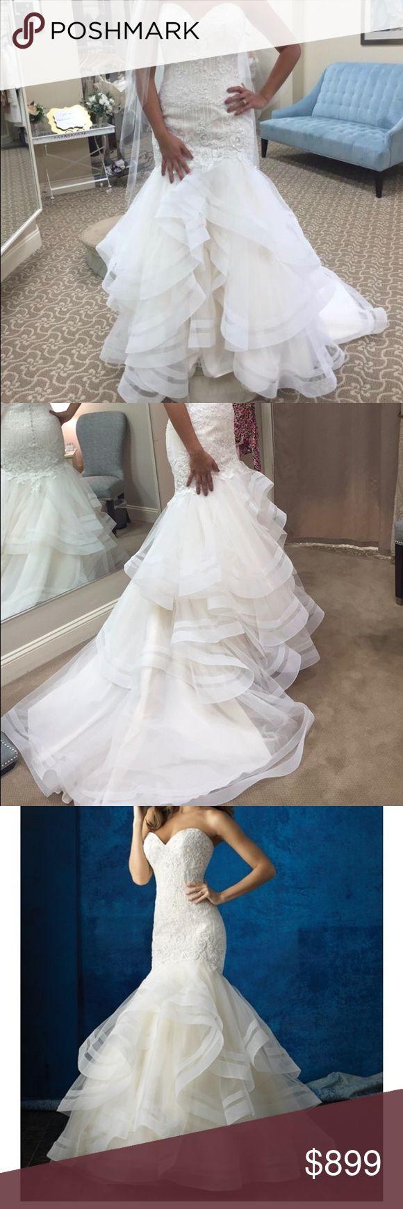 Selling this Allure Bridal wedding dress on Poshmark! My username is: itsxomel. #shopmycloset #poshmark #fashion #shopping #style #forsale #allure bridals #Dresses & Skirts