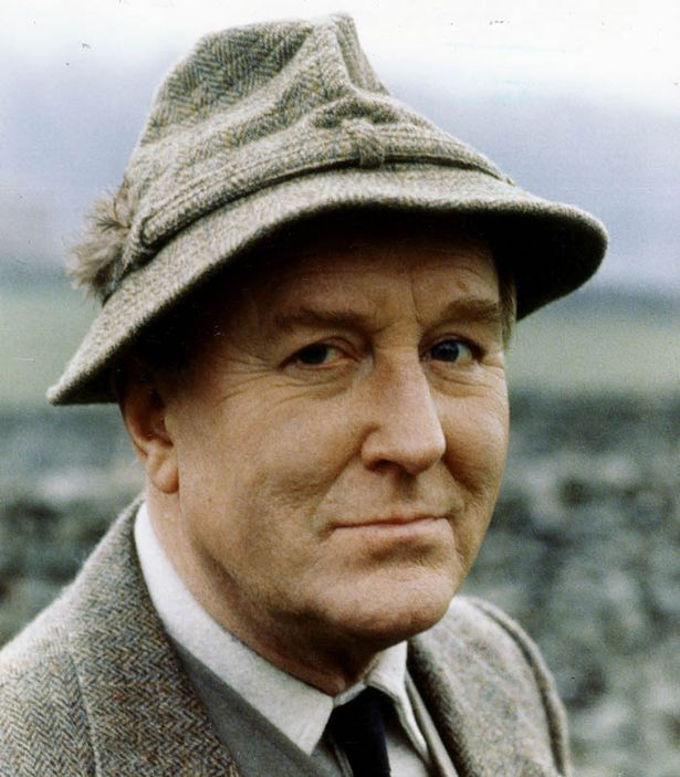 The boss: Robert Hardy, who played Siegfried in the TV show