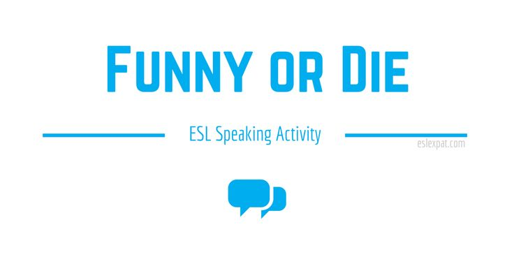 The Funny or Die Speaking Activity can help improve English language learners' discussion and conversation skills by giving opinions about funny videos.