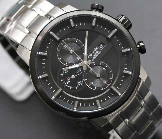 Ac Silver Black-Dial (4.5cm) IDR 720K
