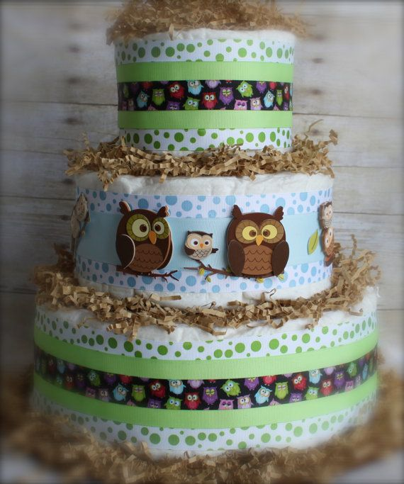 Whooo's That Baby Boy Cake by paddingforthepeaBaby Boys Cake, Baby Cake, Baby'S Kids, Diapers Cake, Cake Ideas, Diaper Cakes, Baby Boy Cakes, Baby Stuff, Baby Shower