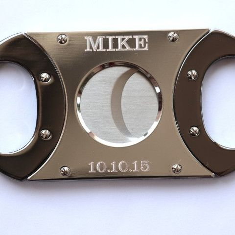 Be ready to toke up your Cuban in the flip of a snip with this great cigar cutter. As efficient as a stogie guillotine, the blade will pierce the tobacco wrap effortlessly, priming your cigar for a pe