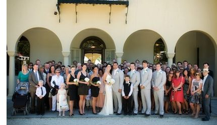 A wedding at the Heritage Hotel Hanmer