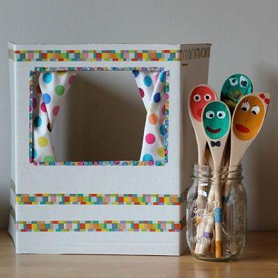 créer theatre marionnettes