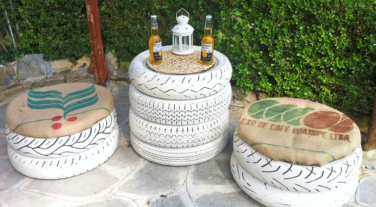 When I think of upcycling projects I want to fill my home with, tires weren't something I originally considered as a prime repurpose-worthy material. However, this list of tire projects changed my ways. I love how creative and crafty these makers got with these DIY ideas. The rainbow of colors