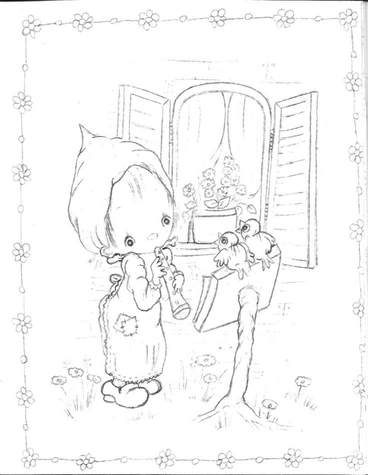 betsy clark coloring book hallmark  vintage coloring