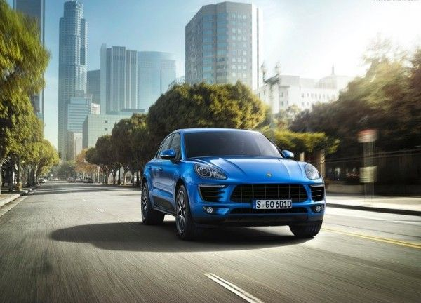 2015 Porsche Macan Blue Pictures 600x432 2015 Porsche Macan Full Reviews with Images