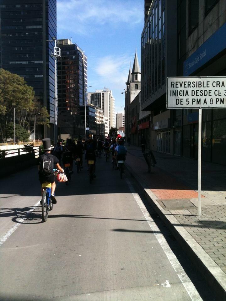 Centro, celebración de los 40 años de la cicloruta 14/12/2014