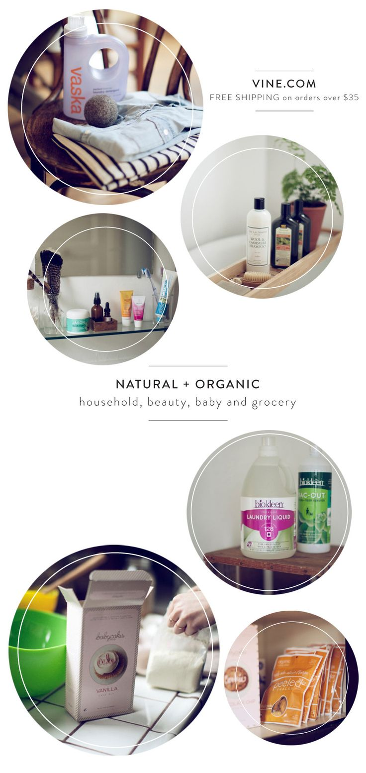 Vine.com Natural and Organic Products + A Discount!