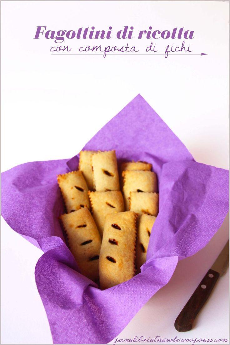 Fagottini di ricotta ripieni di confettura - Soft hand pies with jam