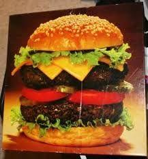 Springbok Puzzle Pass the Ketchup! Cheeseburger 500+ pc