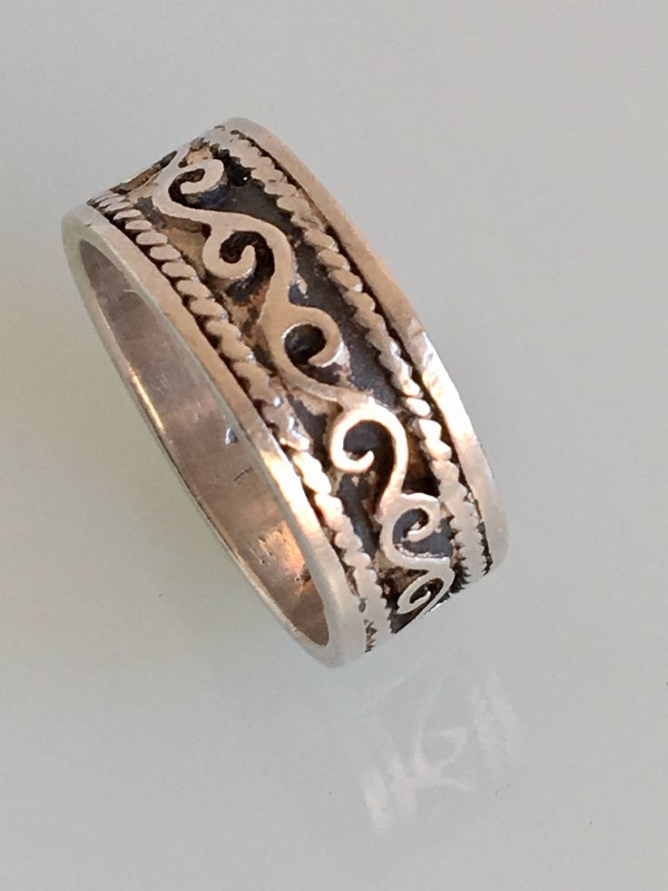 A personal favorite from my Etsy shop https://www.etsy.com/ca/listing/534006936/silver-band-ring