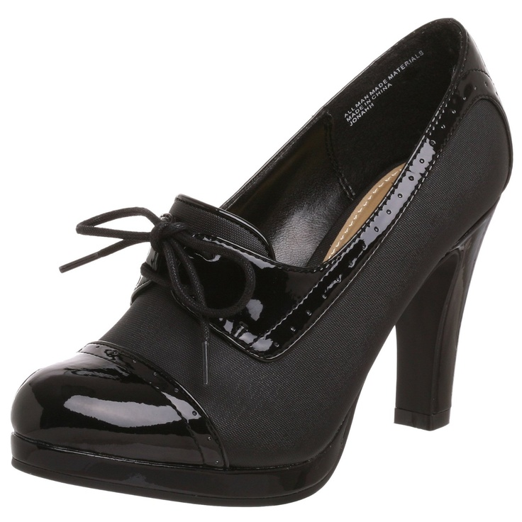 Madden Girl Women's Jonahh Hi Heel Oxford-got shoes exactly like this for a few bucks at the swap meet