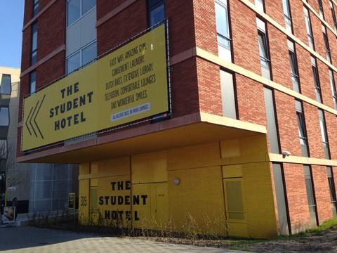 THE STUDENT HOTEL 学生が長期滞在もでき、寮の雰囲気も持つTHE STUDENT HOTEL。 宿泊者同士のコミュニケーションや勉強、仕事もしやすい環境づくり。
